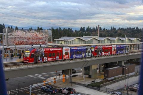 Seattle Sound Transit Train Wrap Example