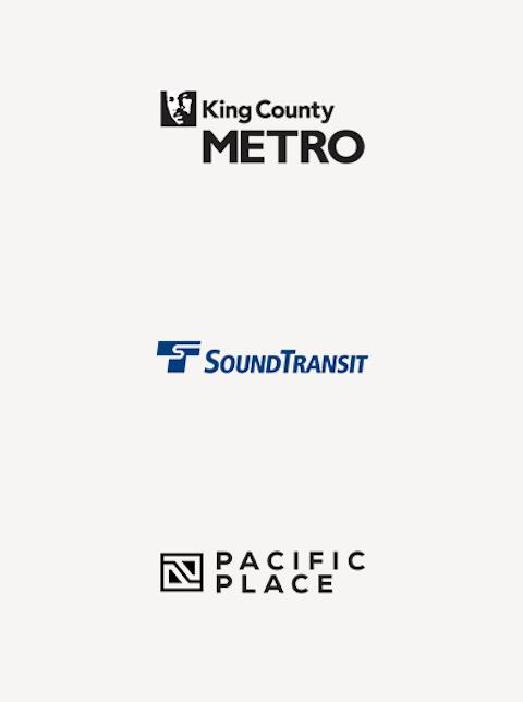 Seattle Transit Partner Logos