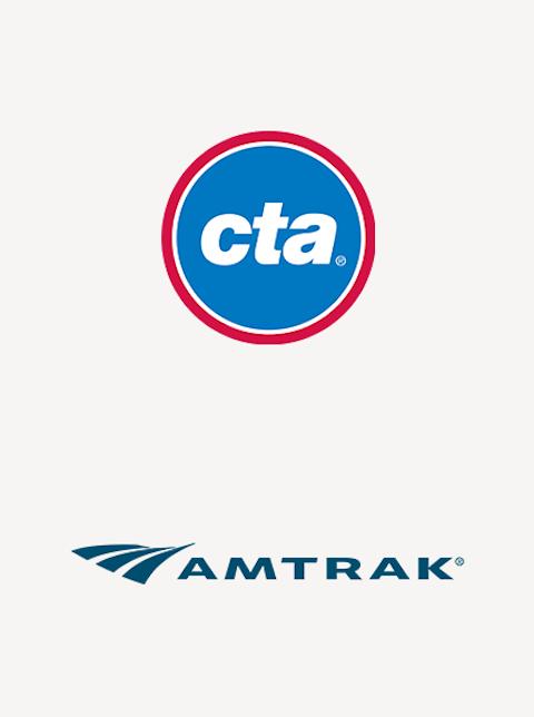 Chicago transit partner logos