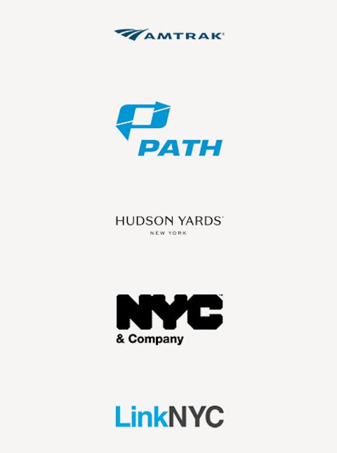 NYC Transit partner logos