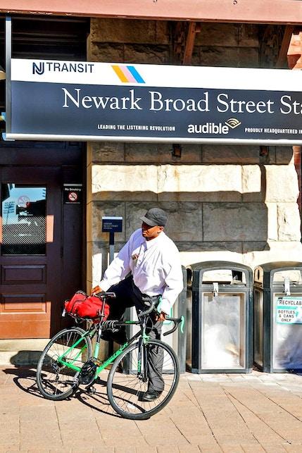 Newark Broad Street NJ Transit station, home of Audible