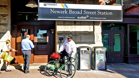 Newark Broad Street NJ Transit station, home of Audible