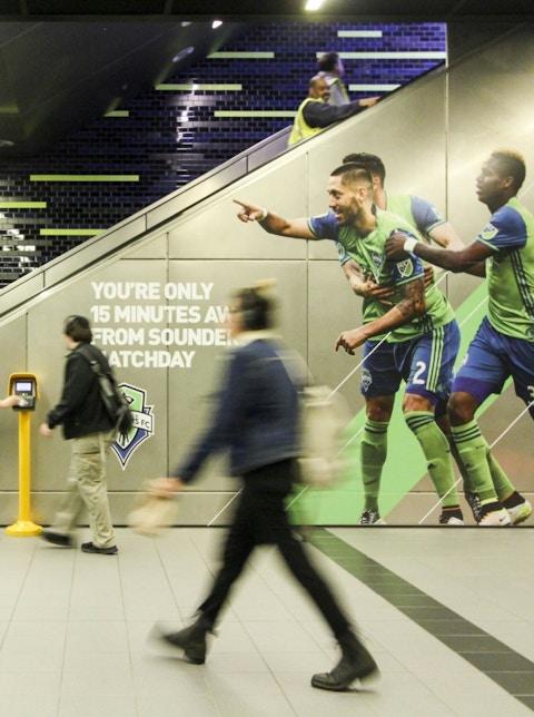 Station domination in Seattle Sound station