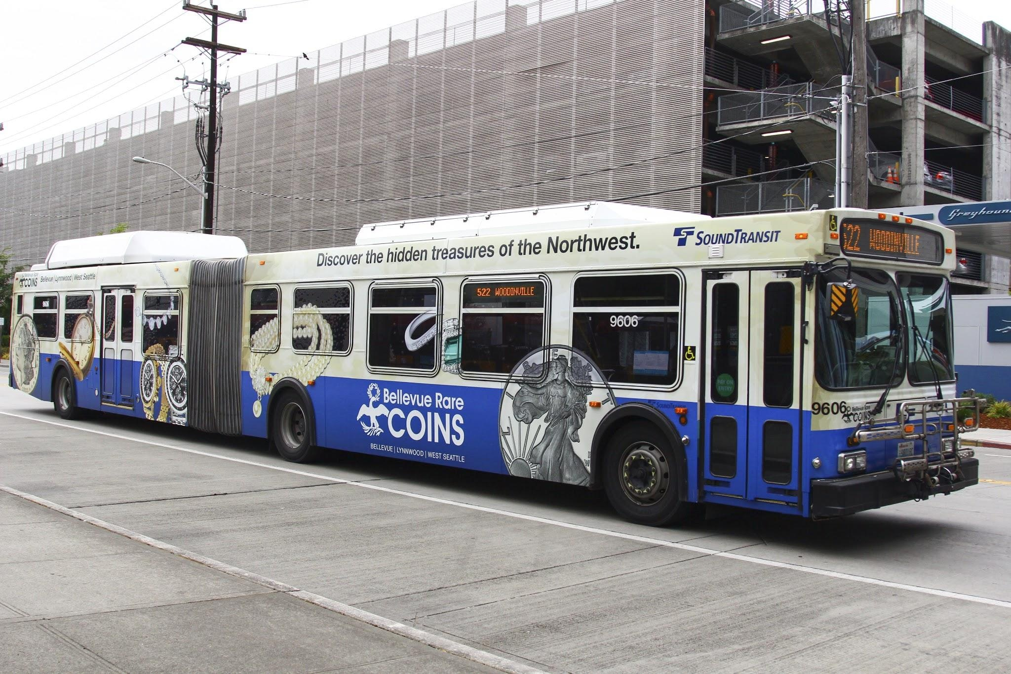 Seattle King County Metro Advertising Outdoor Ads