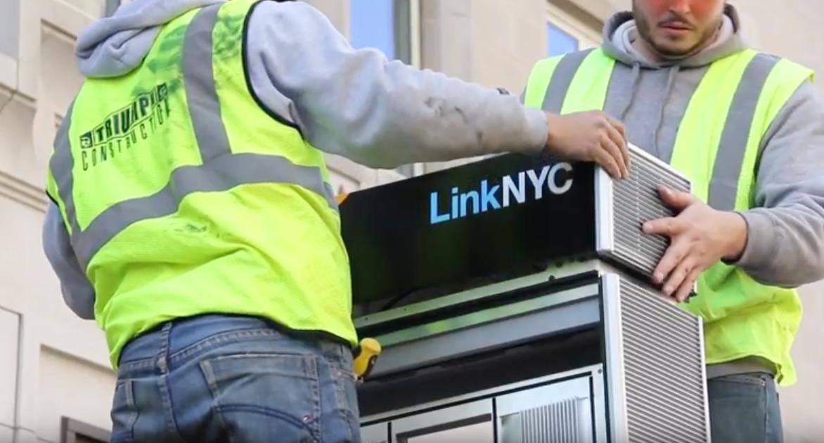 Installing LinkNYC