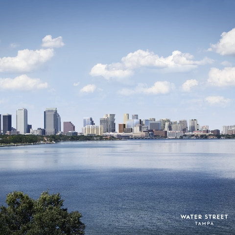 Water Street Skyline in Tampa, an Intersection Connected Communities project