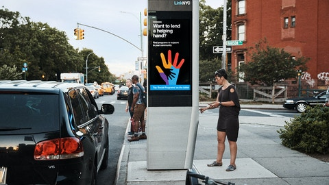 Aunt Bertha on LinkNYC