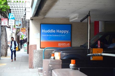 Zoom Parking Garage Domination in San Francisco