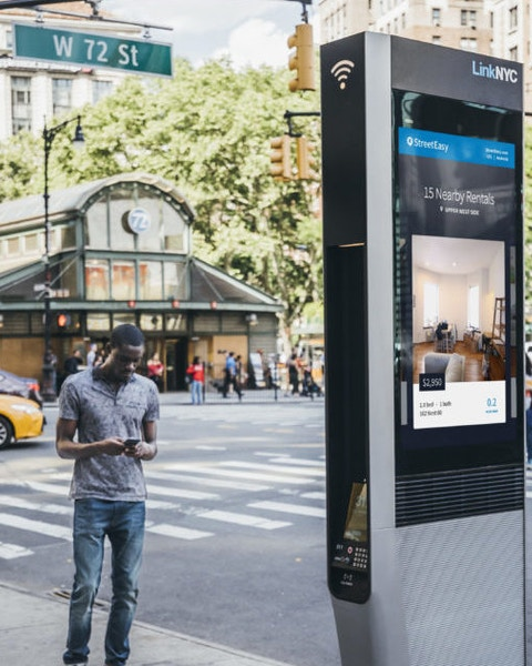 LinkNYC in New York