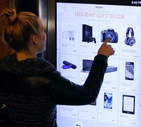 Amazon Gift Guide in NYC MTA