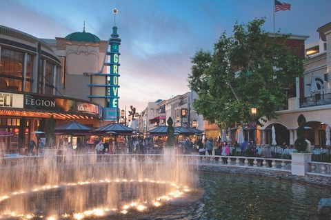 The Grove, a mixed-use development and destination in Los Angeles