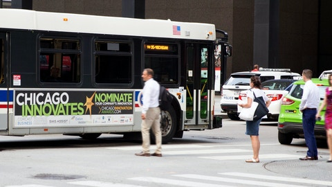 Bus King with Chicago Innovation advertisement