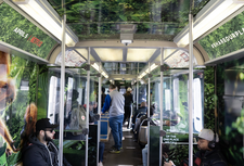 Netflix Internal Rail Wrap, CTA Chicago
