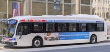 PECO Electric Bus Sponsorship on SEPTA