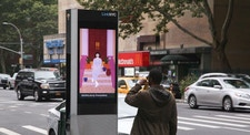 New York City stoops by Vero Romero on LinkNYC