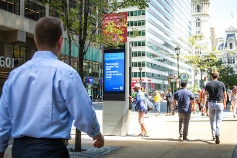Link displaying news in Philadelphia