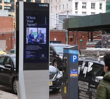 Compass Ad on LinkNYC