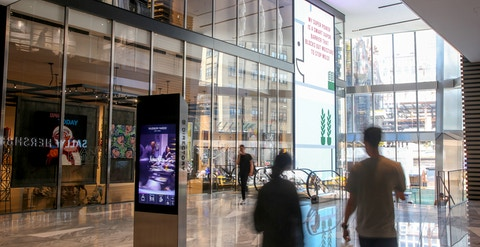 Digital Displays at Hudson Yards