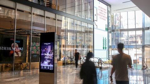 Digital Displays at Hudson Yards