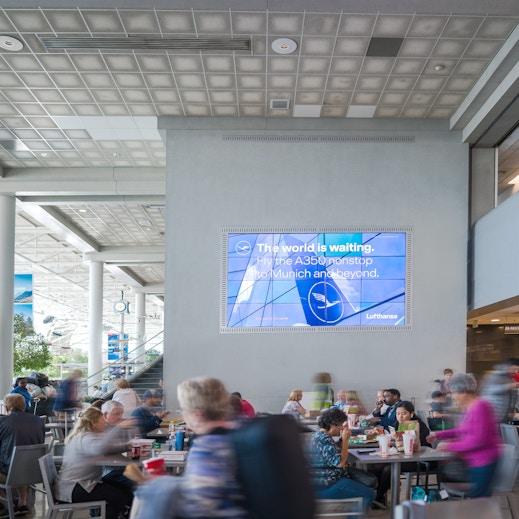 CLT airport media