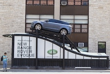 Range Rover Evoque Headhouse Installation in Chicago