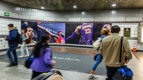 Nike station domination in LA Metro