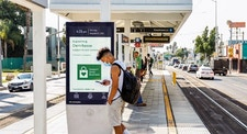 Power the Comeback campaign on LA Metro in Los Angeles