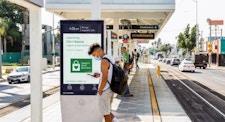 Power the Comeback campaign on LA Metro in Los Angeles