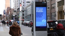 Participatory Budget campaign on LinkNYC