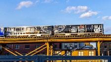 Train wrap in Chicago