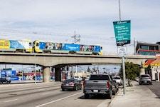 Metro LA Transit OOH rail advertising