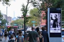 LinkNYC example of digital outdoor advertising