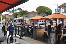 SFMTA bus advertising in San Francisco